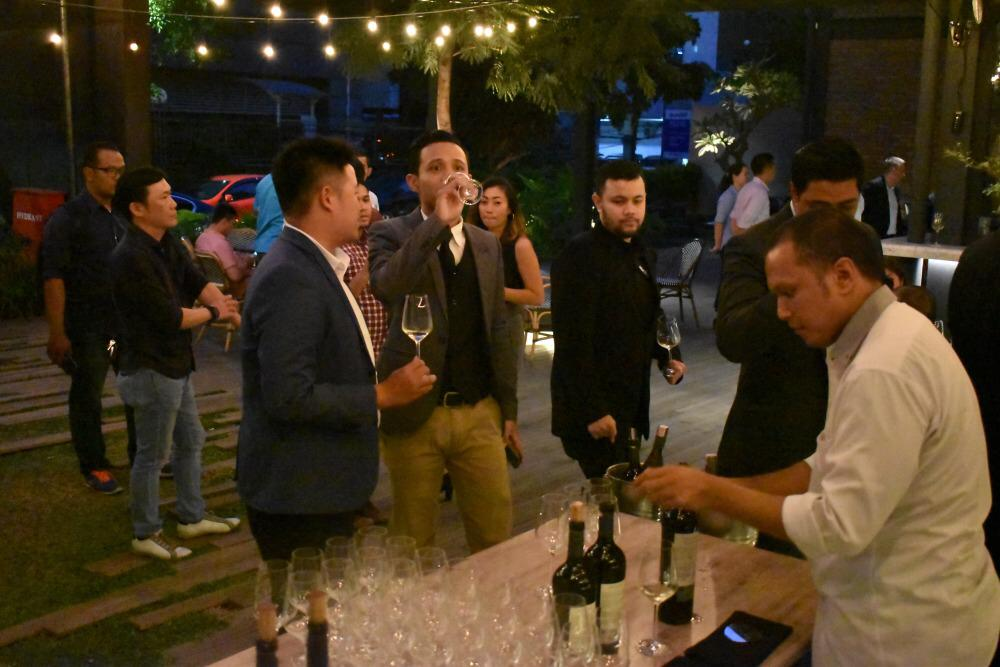 Lazuardi wine launching in Sudestada